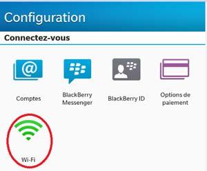 Accédez au réseau sans fil uOttawa-WPA avec votre appareil BlackBerry 10 - étape 2