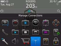 Access uOttawa-WPA wireless with Blackberry OS 6&7 - step 1
