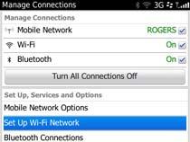Access uOttawa-WPA wireless with Blackberry OS 6&7 - step 3