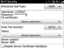 Access uOttawa-WPA wireless with Blackberry OS 6&7 - step 5