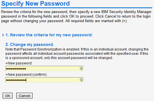 Where do I change my password? step 3