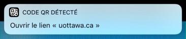iOS 11, QR code reader