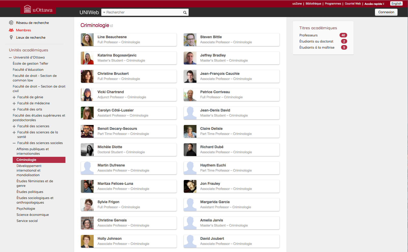 nouvelles fonctionnalit u00e9s d u2019uniweb   partager votre profil