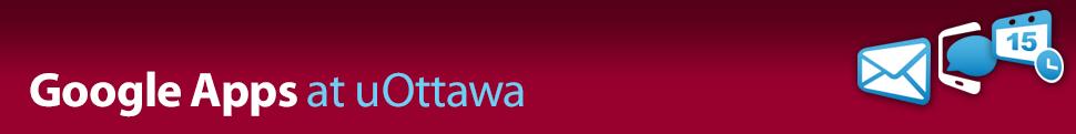 Google Apps at uOttawa