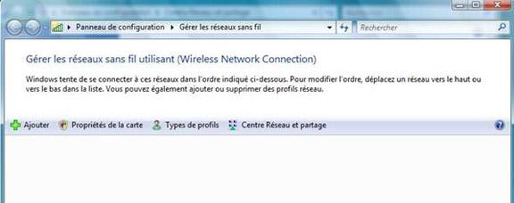 Accéder au réseau sans fil uOttawa-WPA avec Windows Vista - étape 2