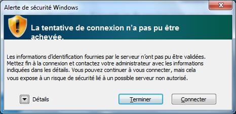 Accéder au réseau sans fil uOttawa-WPA avec Windows 7 - étape 3