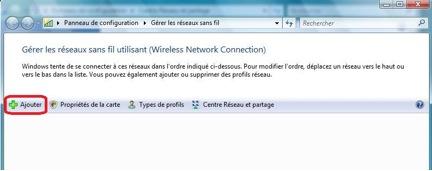 Accéder au réseau sans fil uOttawa-WPA avec Windows 7, configuration alternative - étape 2