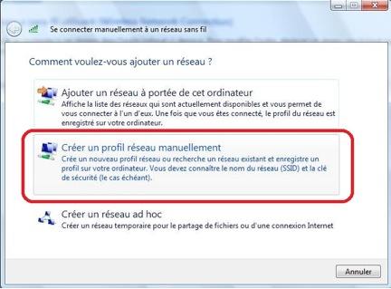 Accéder au réseau sans fil uOttawa-WPA avec Windows 7, configuration alternative - étape 3