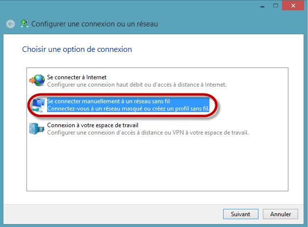 Accéder au réseau sans fil uOttawa-WPA avec Windows 8, configuration alternative - étape 11