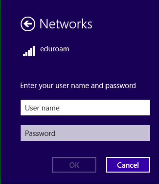 eduroam manual configuration procedures for windows 8 - step 10