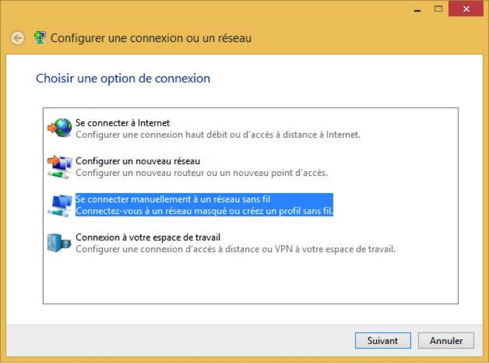 eduroam manual configuration for windows 8 - step 5