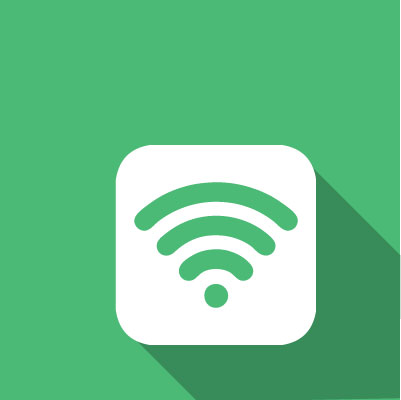 Connect to the wireless network, wi-fi signal