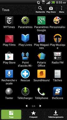Accédez au réseau sans fil uOttawa avec votre Android - étape 1
