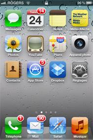 Accédez au réseau sans fil uOttawa avec votre iPhone - étape 1